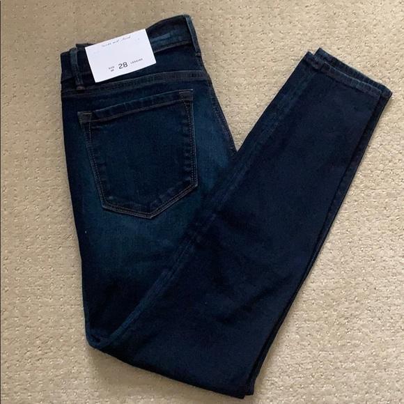 Loft jean legging NWT
